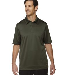88803 Ash City - North End Sport Red Men's Exhilarate Coffee Charcoal Performance Polo with Back Pocket