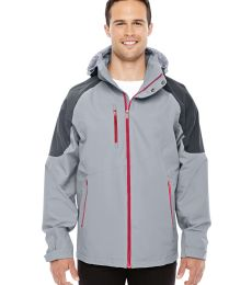 88808 Ash City - North End Sport Red Men's Impulse Interactive Seam-Sealed Shell Jacket