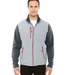 88809 Ash City - North End Sport Red Men's Quantum Interactive Hybrid Insulated Jacket