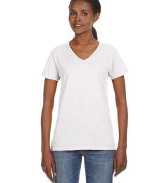 88VL Anvil - Missy Fit Ringspun V-Neck T-Shirt