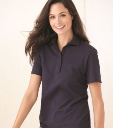Hanes ComfortSoft Ladies 7 Ounce Pique Knit Sport Shirt 035X
