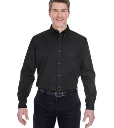 8975 UltraClub® Men's Whisper Twill Blend Woven Shirt