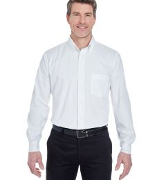 8975T UltraClub® Men's Tall Whisper Twill Blend Woven Shirt