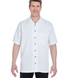 8980 UltraClub® Men's Blend Cabana Breeze Camp Shirt