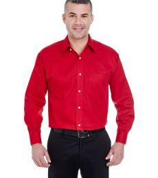 8991 UltraClub® Men's Whisper Elite Twill Blend Woven Shirt