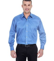 8991 UltraClub® Men's Whisper Elite Twill Blend Woven Shirt