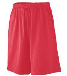Augusta Sportswear 916 Youth Longer Length Jersey Short