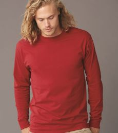 363LS Jerzees Adult HiDENSI-TTM Long-Sleeve Cotton T-Shirt