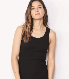 BELLA 4000 Womens Ribbed Tank Top