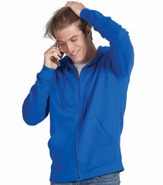 99300 Delta Apparel Adult Unisex Heavyweight Fleece Zip Hoodie