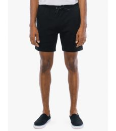 American Apparel RSA54239W Unisex California Fleece Gym Short