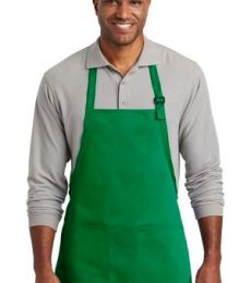 Port Authority Clothing A601 Port Authority  Medium-Length Two-Pocket Bib Apron