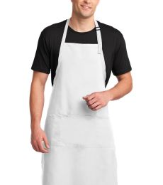 A700 Port Authority® Easy Care Extra Long Bib Apron with Stain Release