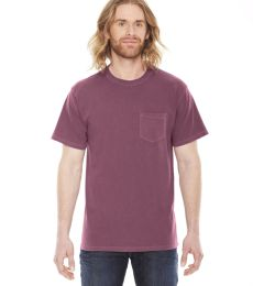 AP201 Authentic Pigment Men's XtraFine Pocket T-Shirt