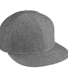 BA516 Big Accessories Flat Bill Cap