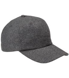 BA528 Big Accessories Wool Baseball Cap