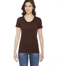 BB301 American Apparel Womens Poly Cotton Short Sleeve Tee