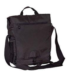 BE043 BAGedge Vertical Messenger Tech Bag
