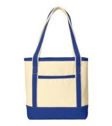242 BG412 Port Authority Medium Cotton Canvas Boat Tote