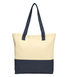 242 BG414 Port Authority Colorblock Cotton Tote