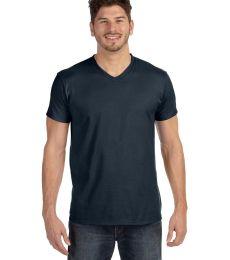 498V Hanes 4.5 oz., 100% Ringspun Cotton nano-T® V-Neck T-Shirt