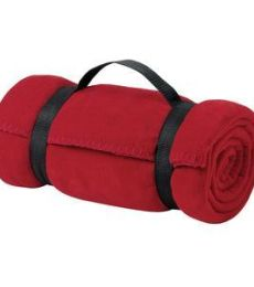 Port Authority BP10    - Value Fleece Blanket with Strap