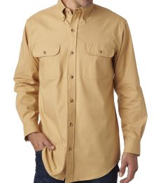 BP7005 Backpacker Men's Solid Flannel Shirt