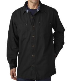 BP7006 Backpacker Men's Canvas Shirt Jacket w/ Flannel Lining