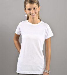L1610 SubliVie Juniors Polyester Sublimation T-Shirt