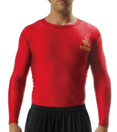 N3133 A4 Long Sleeve Compression Crew