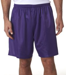 N5293 A4 Adult Lined Tricot Mesh Shorts