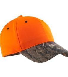 Port Authority C804    Enhanced Visibility Cap with Camo Brim