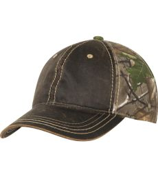 Port Authority C819    Pigment Print Camouflage Cap