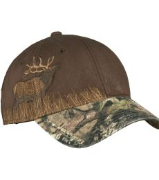 Port Authority C820    Embroidered Camouflage Cap