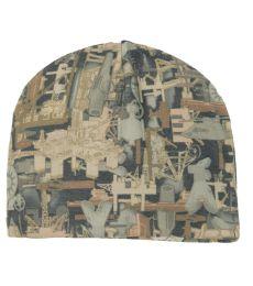 Port Authority C901    Camouflage Fleece Beanie