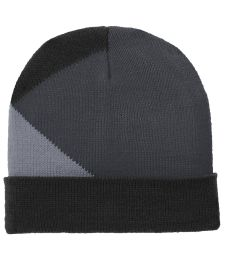 Port Authority C906    Cuffed Colorblock Beanie