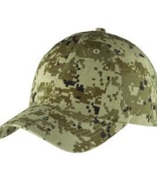 Port Authority C925    Digital Ripstop Camouflage Cap