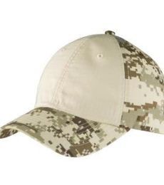 Port Authority C926    Colorblock Digital Ripstop Camouflage Cap