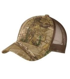 Port Authority C930    Structured Camouflage Mesh Back Cap