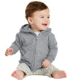 244 CAR78IZH Port & Company Infant Core Fleece Full-Zip Hooded Sweatshirt