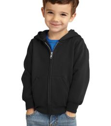 Port & Company CAR78TZH  Toddler Core Fleece Full-Zip Hooded Sweatshirt
