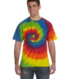 H1000 Tie-Dyes Adult Tie-Dyed Cotton Tee