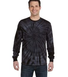 C2000 tie dye Adult Tie-Dyed Long-Sleeve Tee