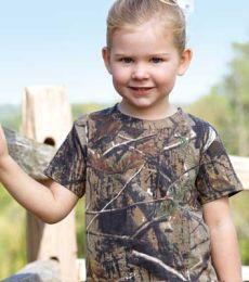 3385 Code V Toddler REALTREE T-Shirt