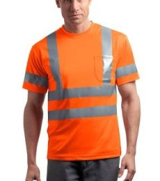 CornerStone ANSI Class 3 Short Sleeve Snag Resistant Reflective T Shirt CS408