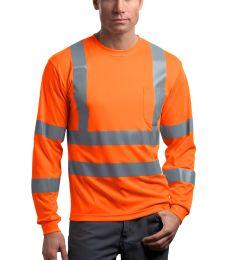 CornerStone ANSI Class 3 Long Sleeve Snag Resistant Reflective T Shirt CS409