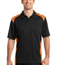 CS416 CornerStone® Select Snag-Proof Two Way Colorblock Pocket Polo