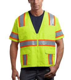CornerStone ANSI Class 3 Dual Color Safety Vest CSV406