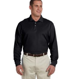 D110 Devon & Jones Men's Pima Pique Long-Sleeve Polo
