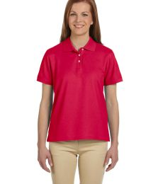 D112W Devon & Jones Ladies' Pima Piqué Short-Sleeve Polo